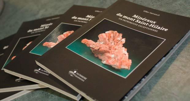Livre sur les minéraux du mont Saint-Hilaire
